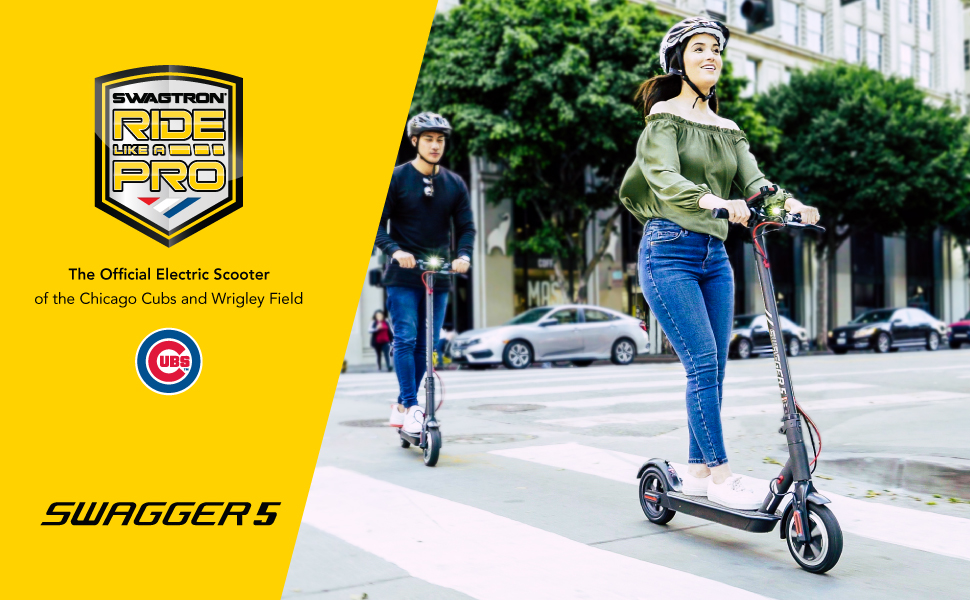 Swagger 5 electric scooter from Swagtron