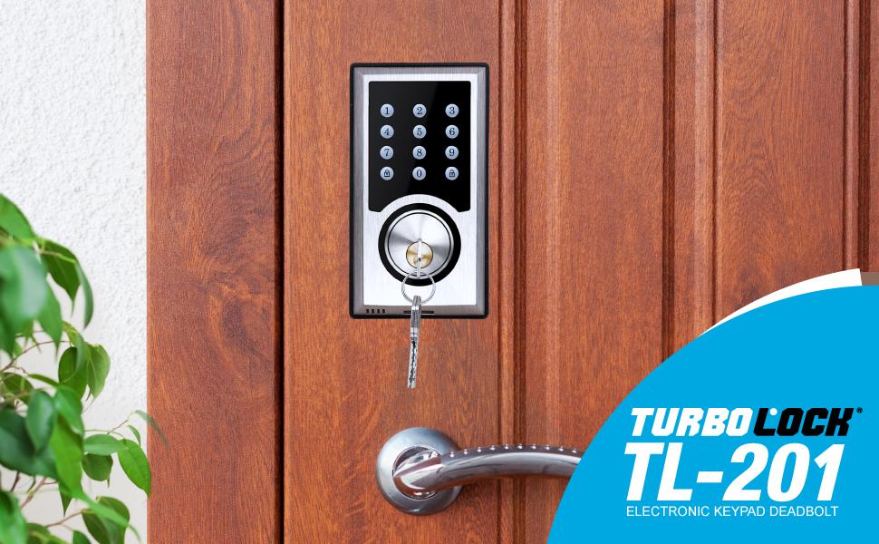 Gold Digital Keypad Door Lock Keyless Electronic Digital Door Lock