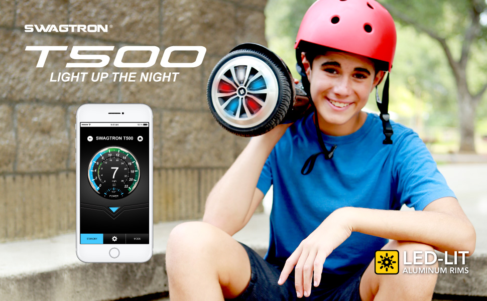 The Swagtron T500 self-balancing hoverboard is the next evolution of transportation